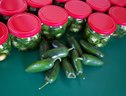 Jalapeño with honey. No preservatives!