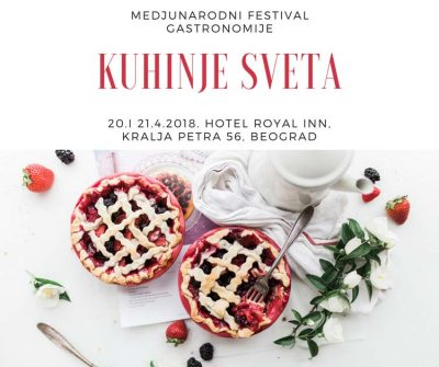 Medjunarodni Festival Gastronomije - Kuhinje Sveta